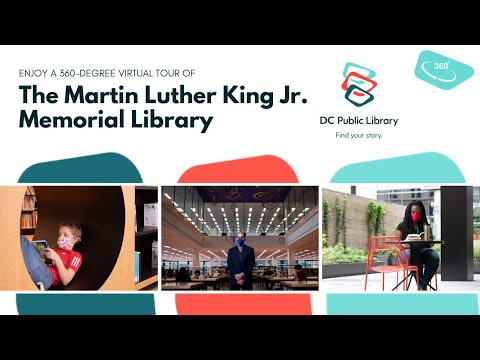 360° Virtual Reality Tour of the Martin Luther King Jr. Memorial Library
