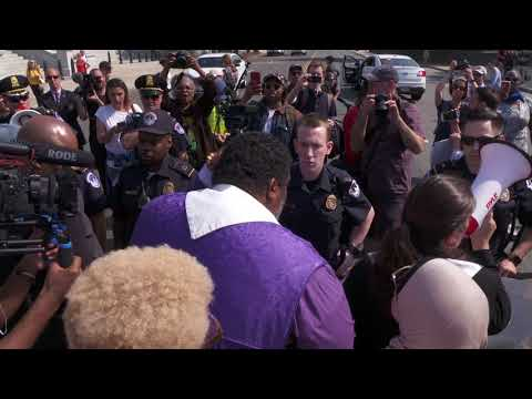 Poor People's Campaign DC Arrests Clips May 14th, 2018